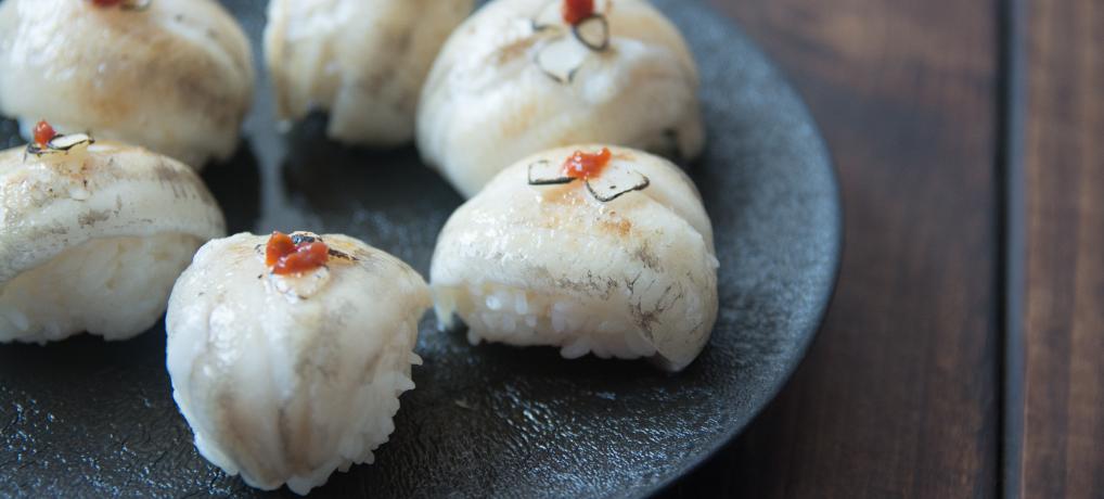 自宅でお寿司 | 焙りメヒカリの手まり寿司!簡単レシピ